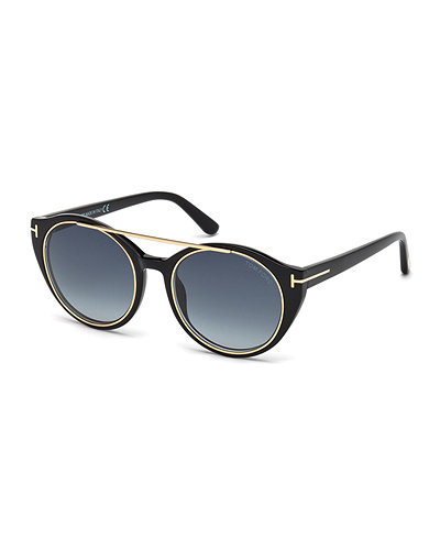 Joan Two-Tone Aviator Sunglasses
