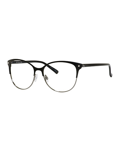 Dior Mens Eyeglass Frames : Dior Semi-Rimless Fashion Glasses