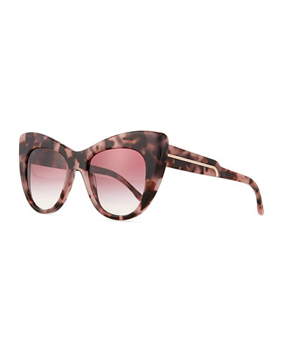 565ce6933460 Stella McCartney Exaggerated Cat-Eye Sunglasses Where to Buy ...