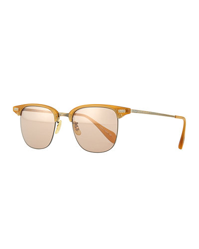 Oliver Peoples Executive I Round Sunglasses