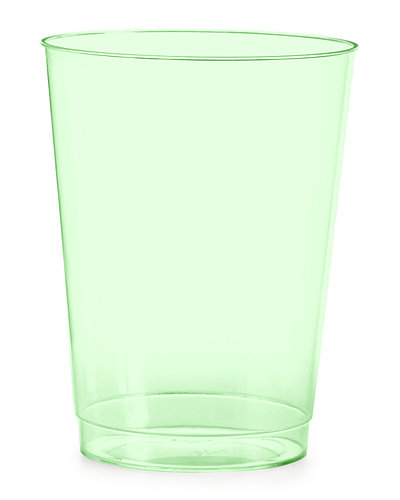 100 10-oz. Clear Cups