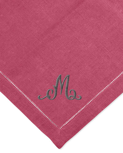 SFERRA Bold Hemstitch Dinner Napkins, Set of 4