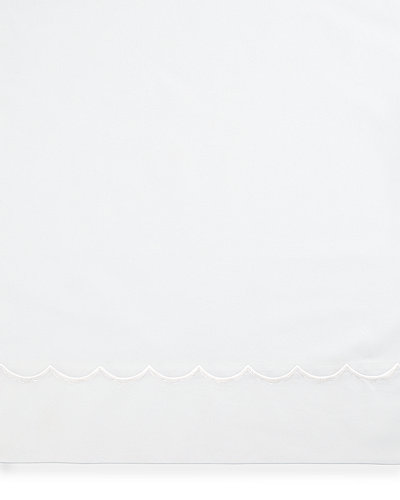 Matouk Full/Queen Embroidered Percale Duvet Cover