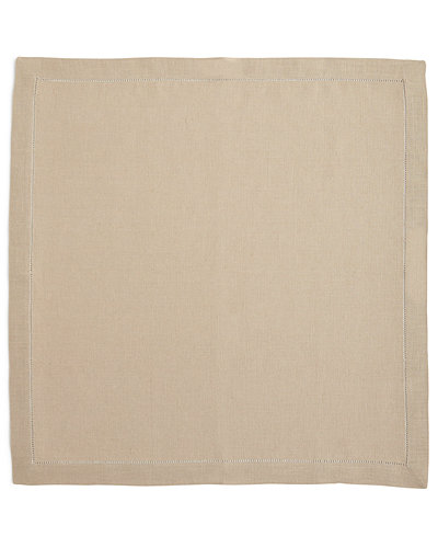 Hemstitched Dinner Napkins, Set of 4