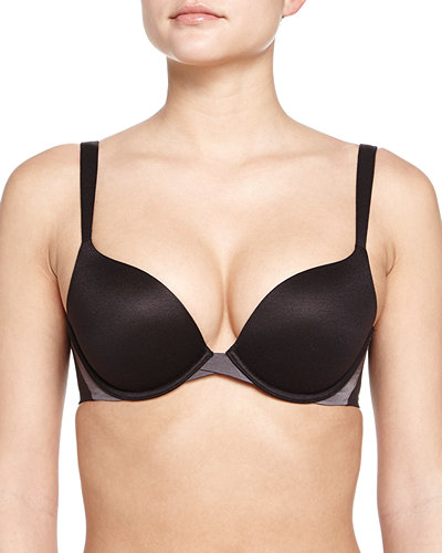 Spanx Pillow Cup Signature Push-Up Plunge Bra