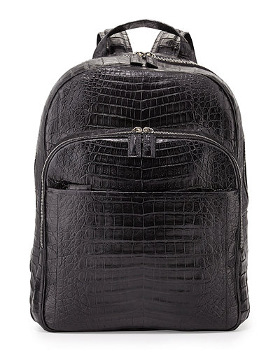 Caiman Crocodile Backpack