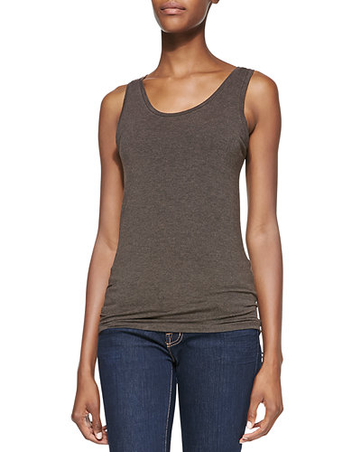 Scoop-Neck Tank, Cafe