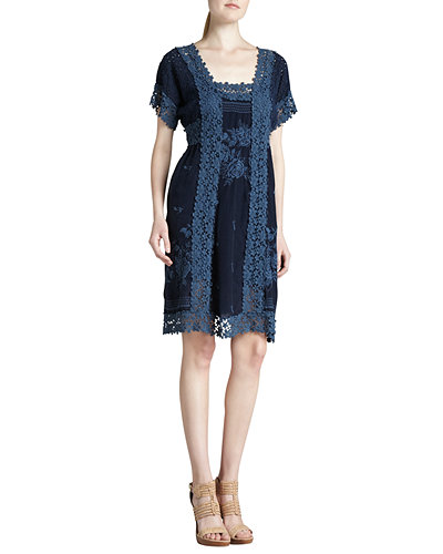 Rose Garden Georgette Dress, Women