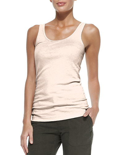 Favorite Sleeveless Scoop-Neck Tank
