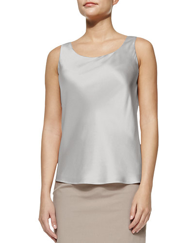 Lafayette 148 New York Bias Luxe Silk Charmeuse
