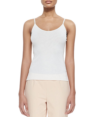 Lafayette 148 New York V-Neck Jersey Tank Top