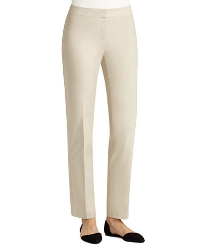 Crosby Metropolitan Straight-Leg Pants