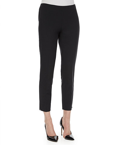 Stanton Straight-Leg Ankle Pants
