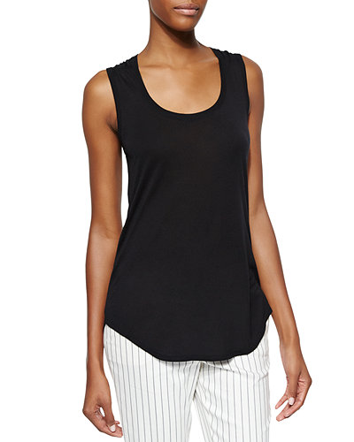 ATM Anthony Thomas Melillo Sweetheart Jersey Knit Tank