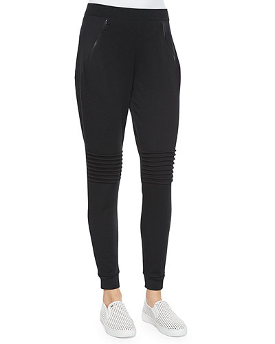 Elie Tahari Eve Colorblock Track Pants