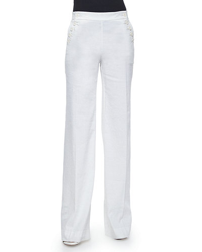 Womens Palazzo Linen Pants Wide Leg High Waisted Drawstring Casual Long Trousers. from $ 20 99 Prime. out of 5 stars 2. Yeokou. Women's Casual Loose Baggy Linen Drawstring Summer Thin Cropped Harem Pants. from $ 9 99 Prime. out of 5 stars Mafulus.