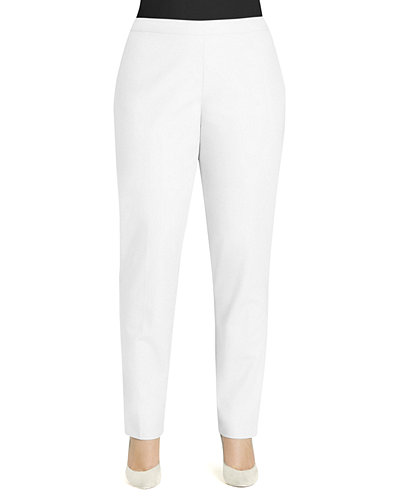 Lafayette 148 New York Crepe Slim Ankle Pants,