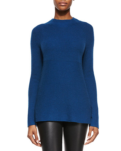 Vince Directional Ribbed Cashmere Sweater