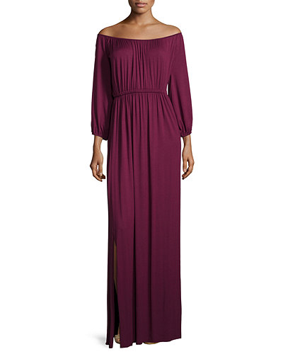 Rachel Pally Freya Off-the-Shoulder Maxi Dress