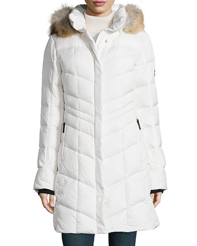 Bogner Dalia-D Chevron Down Coat