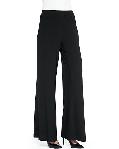 Stretch Knit Pull On Pants | Neiman Marcus