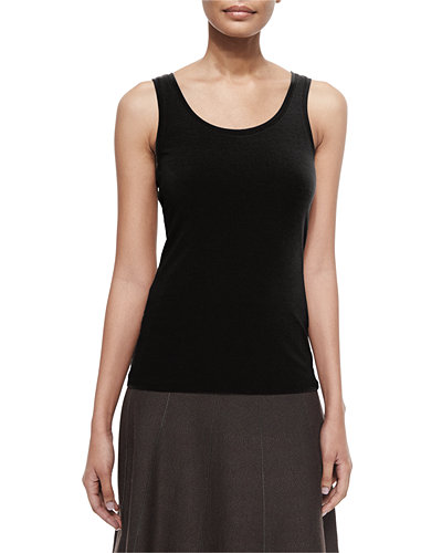 Perfect Jersey Scoop-Neck Tank