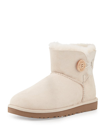 UGG Australia Mini Bailey Button Boot