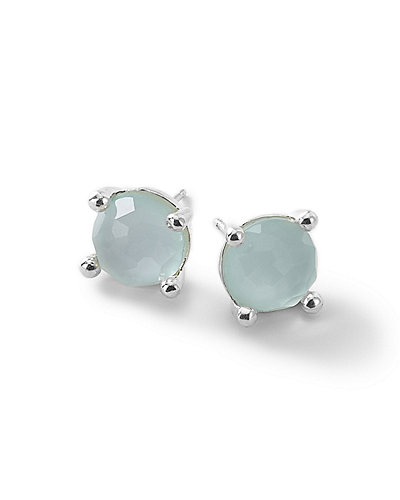 Silver Wonderland Mini Stud Earrings