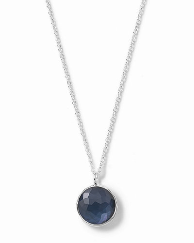 IppolitaWonderland Small Round Pendant Necklace