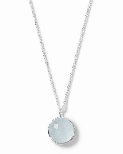 Wonderland Small Round Pendant Necklace