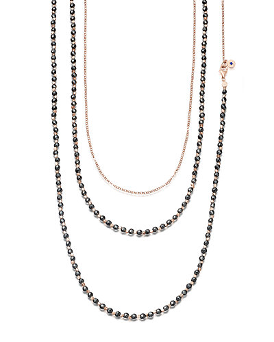 Astley Clarke Biography Beaded Charm Necklace