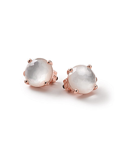 IppolitaRock Candy Rose Mini Clip-On Earrings