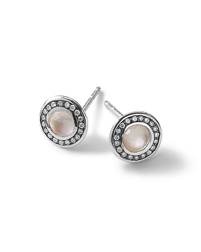 Ippolita Silver Lollipop Mini Stud Earrings