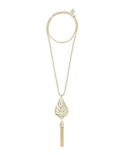 Keller Tassel Pendant Necklace
