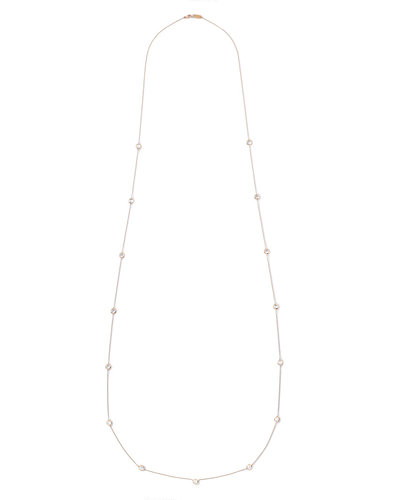 Ippolita 18k Lollipop Mini Stone Station Necklace, 50