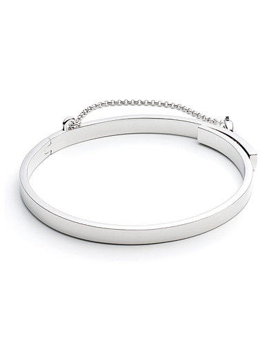 Eddie Borgo Extra-Thin Safety Chain Bracelet