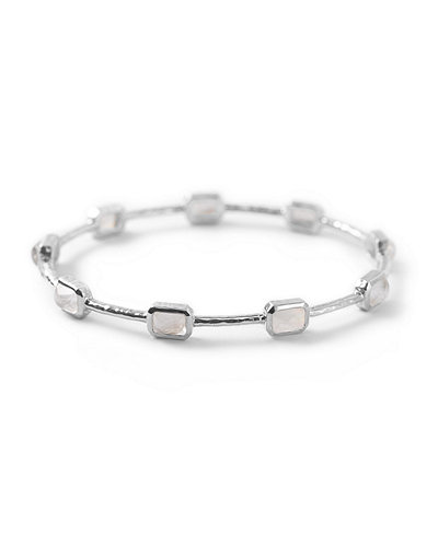 Silver Rock Candy 9-Stone Bangle