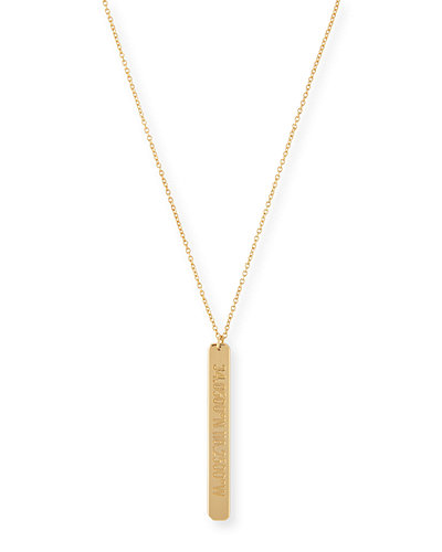 Amazon Engraved Pendant Necklace, 18-32