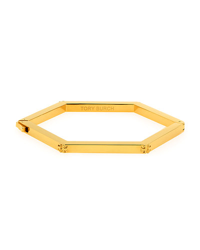 Hexagon Logo Hinge Bracelet