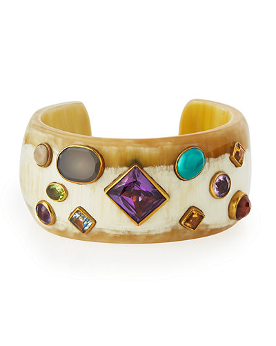 Ashley Pittman Shinda Cuff with Stones