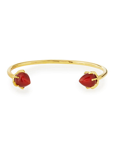 Lizzie Fortunato Eclipse Teardrop Wire Cuff