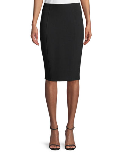 Lela Rose Danielle Pencil Skirt