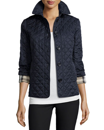 Burberry Brit Ashurst Classic Modern Quilted Jacket