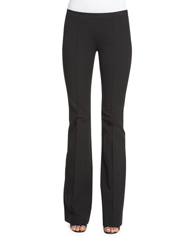 Michael Kors Collection Mid-Rise Flare-Leg Pants