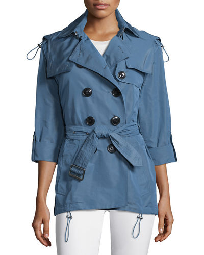 Burberry Brit Knightsdale Hooded Trenchcoat