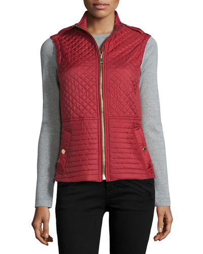 Tindale Quilted Zip-Front Vest