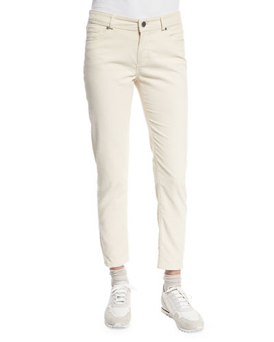 Loro Piana Mathias Corduroy Cropped Pants