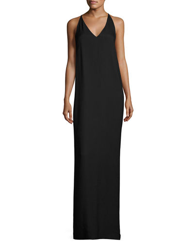 Nahel V-Neck Sleeveless Maxi Dress