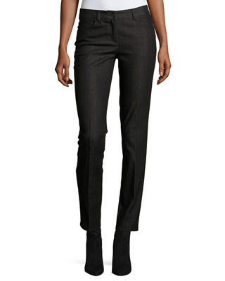 Magda Slim Leg Ankle Jeans by Akris