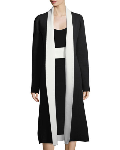 Narciso Rodriguez Double-Face Cashmere Duster